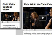 CSS & JS: Make Youtube responsive